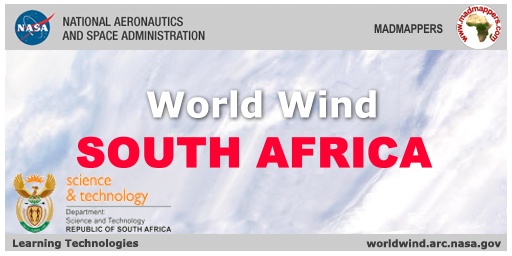 WorldWind South Africa splash