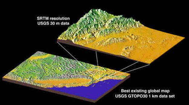 space shuttle radar topography mission - photo #35