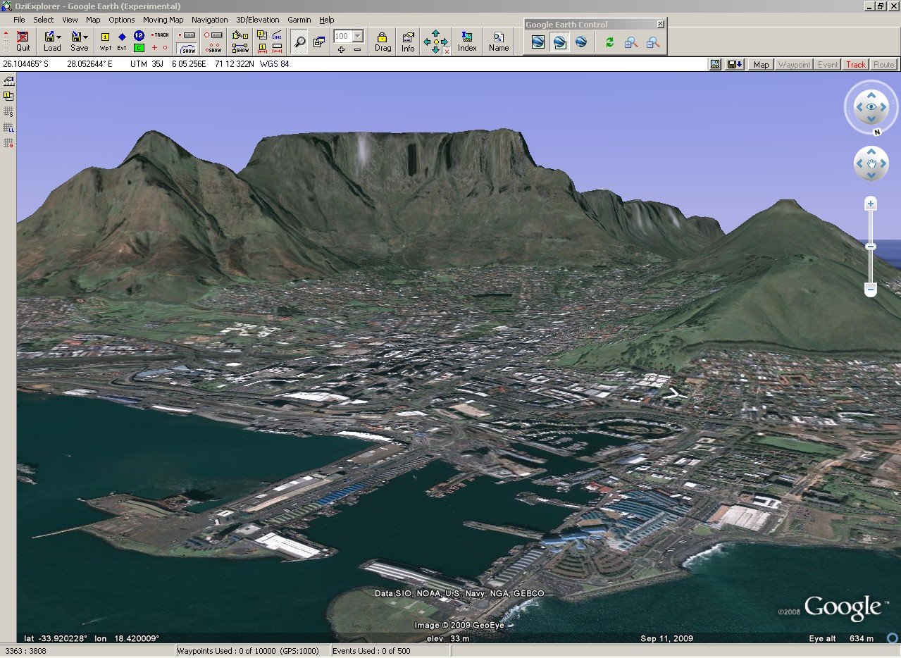 Madmappers google earth google earth cape town gumiabroncs Choice Image